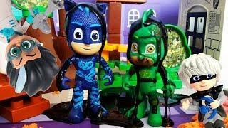 Мультик с игрушками для детей! Герои в Масках и Маша и Медведь видео с игрушками для малышей