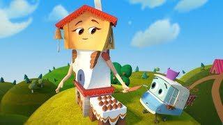 Мультики - Домики - Новая серия! Пекарня - Обучающие мультфильмы для детей