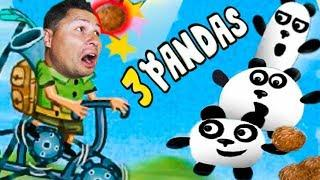 ПРИКЛЮЧЕНИЯ ТРИ ПАНДЫ в БРАЗИЛИИ мультик игра для детей и малышей KIDS CHILDREN