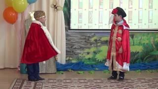 Вовка в тридевятом царстве Царь Детские мультфильмы Выпускной в детском саду Смешные дети