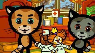 Детские песни - КОТЯТКИНЫ ИСТОРИИ - Если кто-то болен в доме - Развивающие мультики