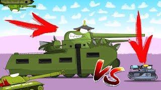 ГИГАНТ ТГ-5 VS T1-МОНСТР Мультики про танки