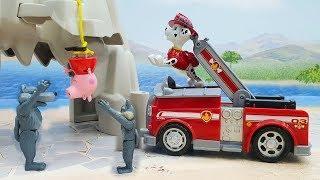 МУЛЬТИКИ ПРО МАШИНКИ - Щенячий Патруль у видео для детей   Помощники! Мультик с игрушками.
