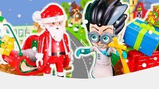 Герои в масках и Маша и Медведь мультики с игрушками для детей  Новогодние мультфильмы 2018 все сери